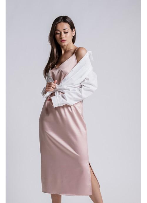 Платье 25587 гр.розовый