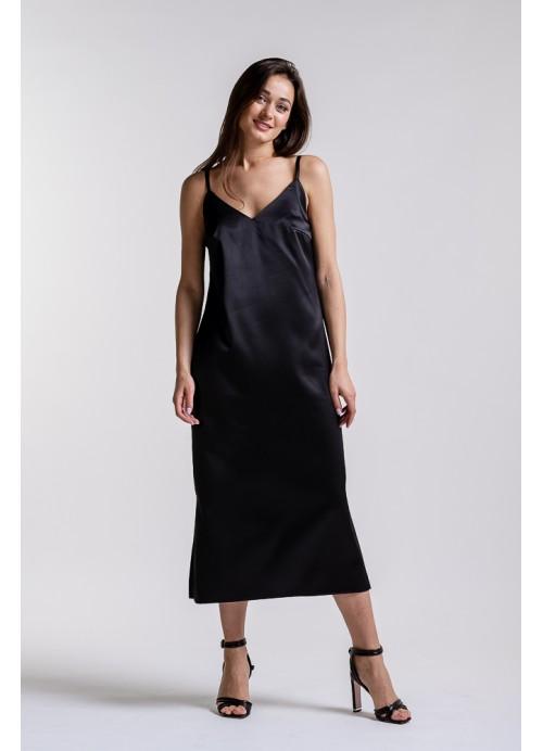 Платье 25587 черный