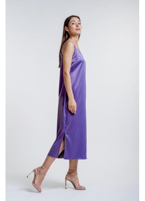 Платье 25587 фиолетовый
