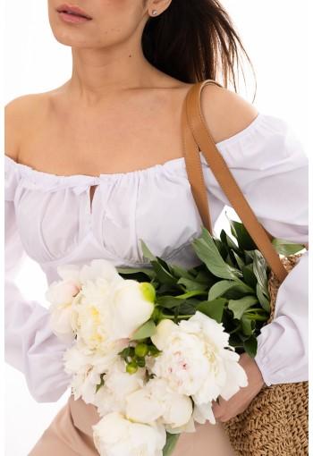 Блуза 26602 белый