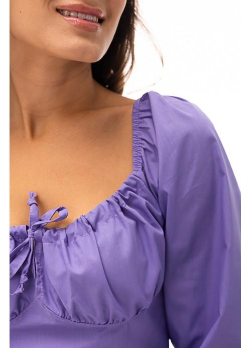 Блуза 26602 сиреневый